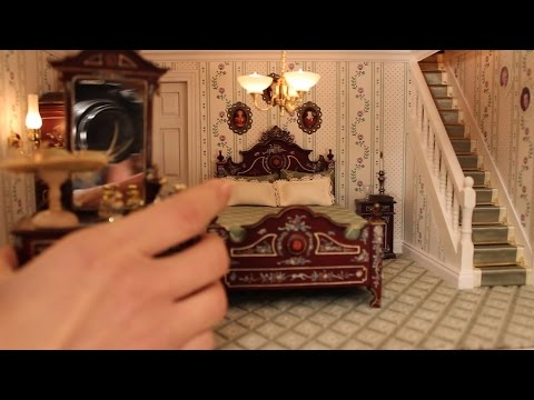 Tutorial how to make a  Doll house: 1) Put the furniture