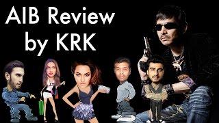 All India Bakchod (AIB) Knockout Roast Review by KRK | KRK live