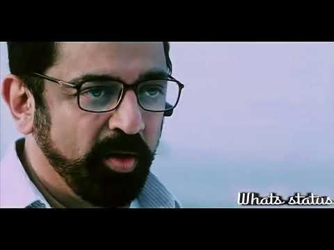 Kamal's Best Dialogue WhatsApp Status Unnaipol Oruvan super scene tamil movie