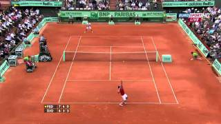 Roger Federer vs Novak Djokovic   Roland Garros 2011 Semifinal 1080p Highlights