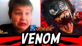 Venom Scare on Omegle !