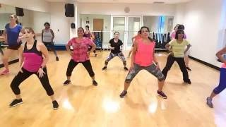 Big Booty song by Jlo Zumba Routine by Strong and Fit Life
