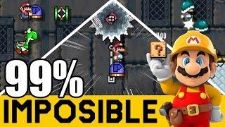 Pit of Panga: P-Break - NIVELES 99% IMPOSIBLES #54   Super Mario Maker en Español - ZetaSSJ