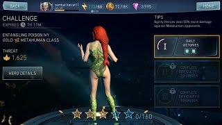 Injustice 2 Mobile - Poison Ivy Challenge Battles Gameplay