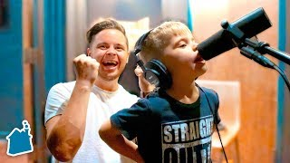 Recording Ollie's First Original Song! (5 YEARS OLD)