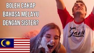 OH MY BAHASA MALAYSIA! (BROTHER V SISTER) | Mark O'Dea