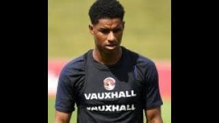 Marcus Rashford back in full England training on Friday