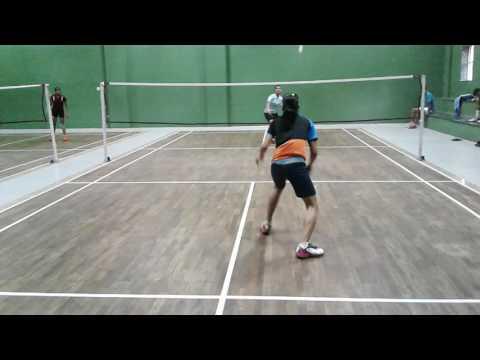shalini playing badminton june 2016, saina nehwal