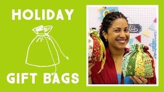 Make Your Own Holiday Gift Bag!