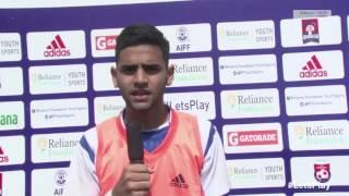 RFYS: Pune Jr. Boys - St. Vincent's High School Interview