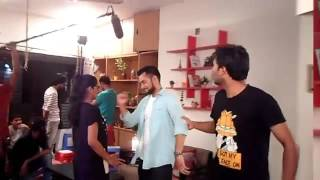 RoopKotha 2016 Bangla Eid Natok Behind The Scene Ft. Hridoy Khan & Tisha