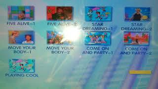Hi-5 DVD menu