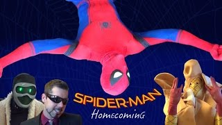 SPIDER-MAN: HOMECOMING PARODY! (Part 1 of 2) NSFW Marvel Spoof - MELF