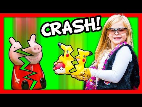 ASSISTANT Piggy Bank Smask Pokemon Dreamworks Trolls Surprise Toys Video