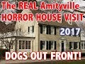 The Amityville House | 2017 | Dogs out front!!