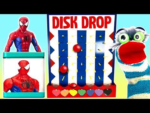 GAME Surprise Blind Boxes Batman Hulk Disk Drop