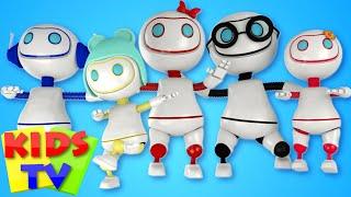 Robot Finger Family | Nursery Rhymes | Kids Song | Children Rhymes