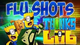 THINK GETS SICK!! | Think's Lab Minecraft Mods [Minecraft Roleplay]