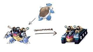 Blastoise - Pokemon Characters As Transformer #3.