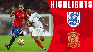 England 2-2 Spain (2016 Friendly) | Goals & Highlights
