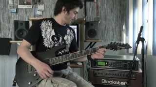 Racer X - Technical Difficulties - Guitar performance by Cesar Huesca (HD)