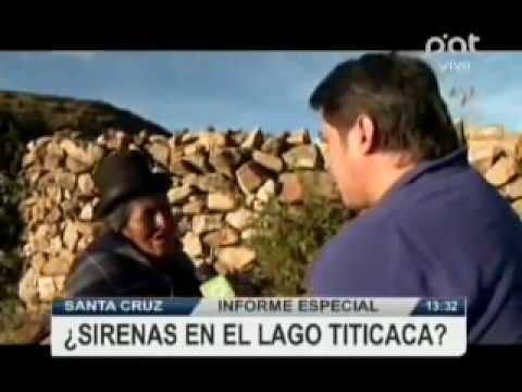 Informe especial hay sirenas en el Lago Titicaca verPAT Bolivia