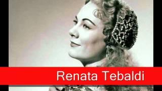 Renata Tebaldi: Tchaikovsky - Eugene Onegin, 'Tatyana's Letter Scene'