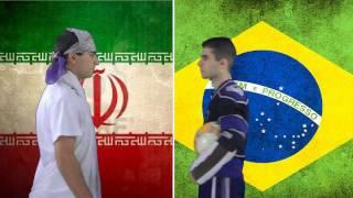 Brazil vs. Iran | Immortal Rap Battles Of Nations #5