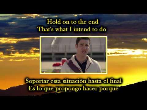 Glee Hopelessly devoted to you Sub spanish with lyrics