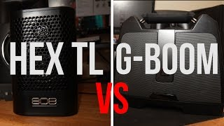 Best Bluetooth Speaker under $100: Hex TL vs. G-Boom