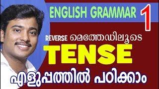 TENSES | English Grammar in Malayalam | #1