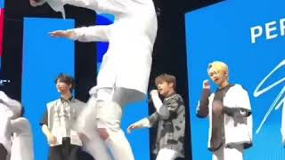 Minho Dancing to Fire by BTS- KCON NYC 2018