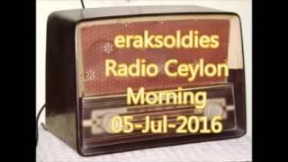 Radio Ceylon 05-07-2016~Tuesday Morning~02 Purani Filmon Ka Sangeet