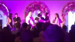 Salman Khan Aamir Khan Katrina Kaif priyanka chopra Karan johar at salman's sister arpita wedding