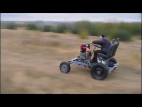 Konstrukcja i jazda traktorek SAM 1CA90