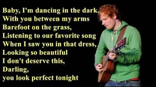 Perfect - Ed Sheeran [Lyrics]