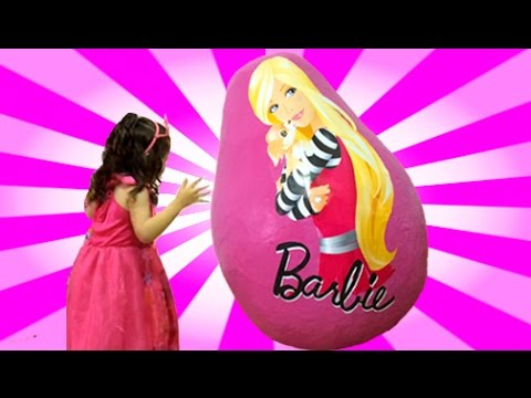 Barbie Life In The Dreamhouse Secret Door Dolls Princess Toys in Egg Giant Dreamhouse