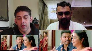 Theri Trailer Reaction | Vijay, Samantha, Amy Jackson