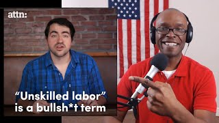 Liberal Redneck Preaches Economics, Wages, Unions, and Fails (REACTION)