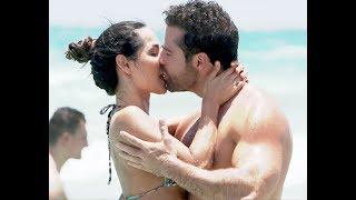 En la playa con Carmen Villalobos y sus besos de verdad