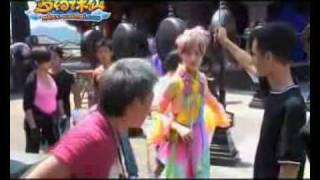 梦幻诛仙 Fantasy Zhu Xian (Meng Huan Zhu Xian) -- behind the scenes