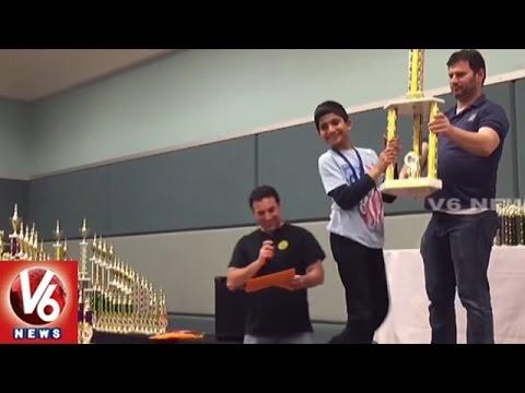 NRI Student Devesh Wins Super State Chess Championship Tourney   V6 USA NRI News