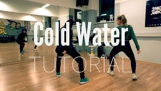 Hip Hop DANCE TUTORIAL ★ Cold Water (deutsch) @TanzAlex