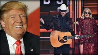 COUNTRY STARS WARNED ABOUT BASHING TRUMP AT AWARDS SHOW BUT THEY DIDN'T LISTEN