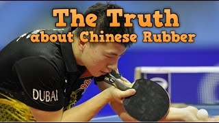 The Truth about Chinese Rubbers   Ma Long Forehand Rubber