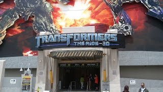 Transformers: The Ride 3D HD On Ride POV Universal Studios Hollywood