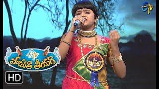Kinnerasaani Vachhindamma Song | Jaahnavi Performance | Padutha Theeyaga |1st October 2017 | ETV