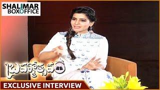 Samantha Exclusive Interview Part 02   Brahmotsavam Movie    Mahesh Babu , Kajal Aggarwal