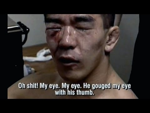 Giant slayer Yuki Nakai 3 fights in 1 night Gets blinded for life Vale Tudo Japan