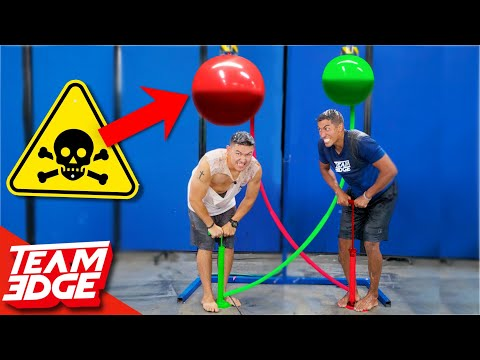 Race to Pop the Nasty Balloon Challenge Don t Let it Pop on You